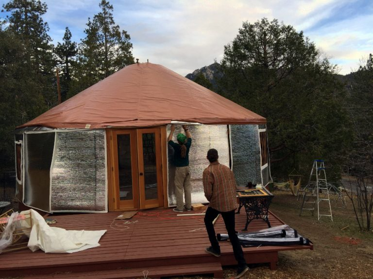 Yurt Insulation and Heating